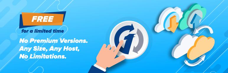 WordPress 1 Click Migration Plugin Banner Image