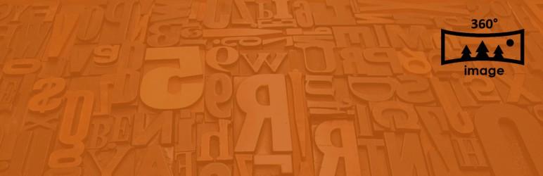 WordPress Algori 360 Image Plugin Banner Image