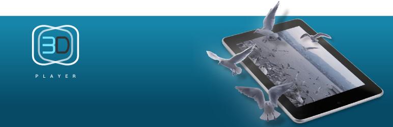 WordPress 3D Wiggle Player Plugin Banner Image