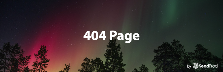 WordPress 404 Page by SeedProd Plugin Banner Image