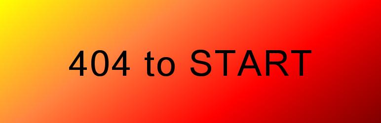 WordPress 404 to Start Plugin Banner Image