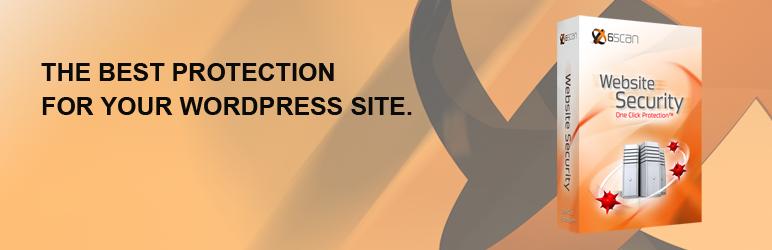WordPress 6Scan Security Plugin Banner Image