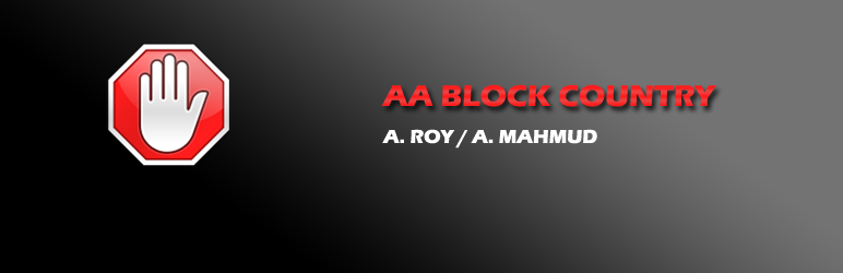 WordPress AA Block country Plugin Banner Image