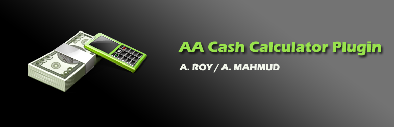WordPress AA Cash Calculator Plugin Banner Image