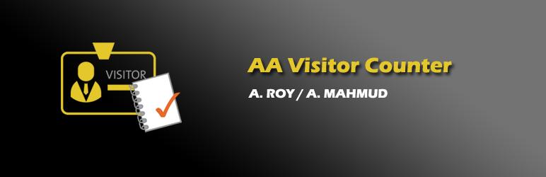 WordPress AA Visitor Counter Widget Plugin Banner Image