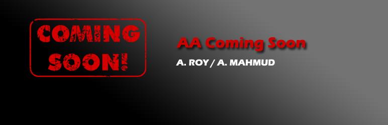 WordPress AA Coming Soon Plugin Banner Image