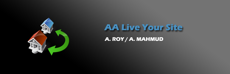 WordPress AA Live Your Site Plugin Banner Image