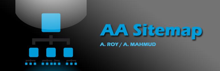 WordPress AA Sitemap Plugin Banner Image