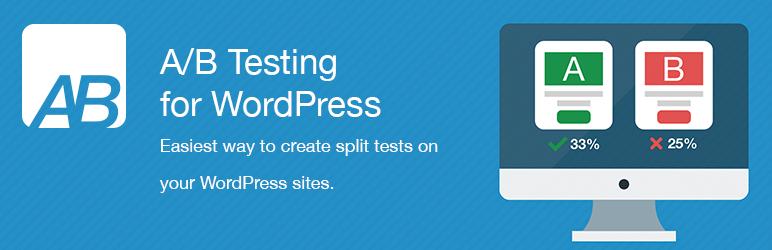 WordPress A/B Testing for WordPress Plugin Banner Image