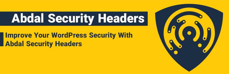 WordPress Abdal Security Headers Plugin Banner Image