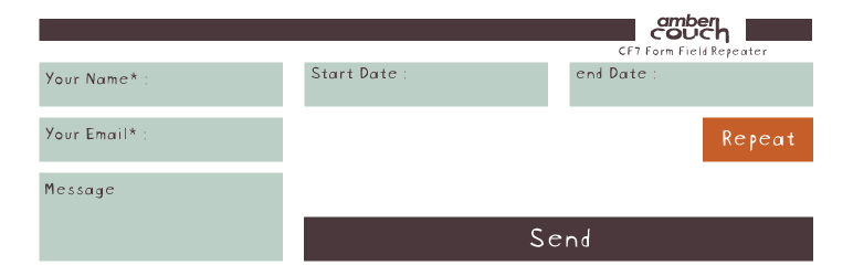 WordPress AC CF7 Form Field Repeater Plugin Banner Image