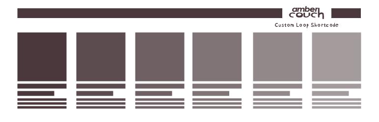 WordPress AC Custom Loop Shortcode Plugin Banner Image