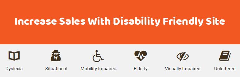 WordPress Accessibility Enabler Plugin Banner Image