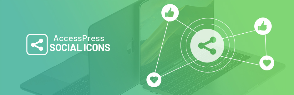 WordPress AccessPress Social Icons Plugin Banner Image