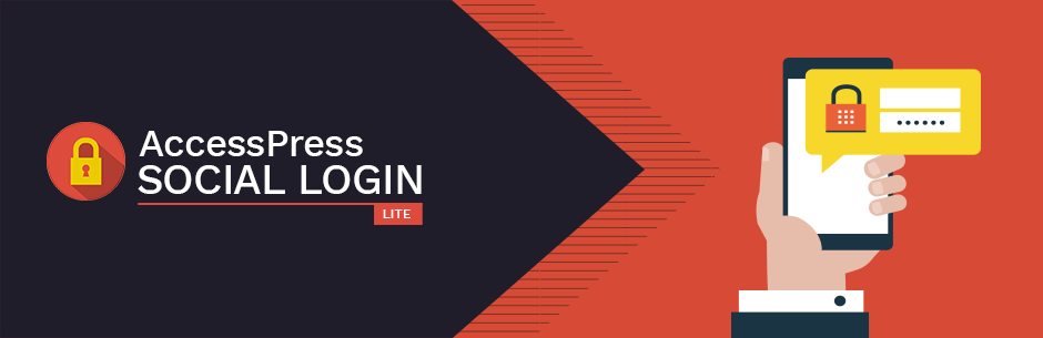 WordPress AccessPress Social Login Lite – Social Login WordPress Plugin Plugin Banner Image