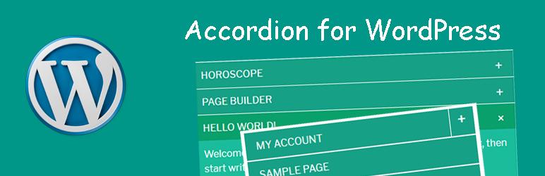 WordPress Accordion for WordPress – Accordion, FAQ, Tabs Shortcode and Widgets Plugin Banner Image