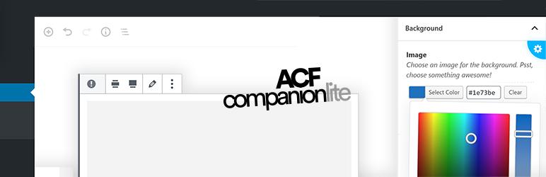 WordPress ACF Companion Lite Plugin Banner Image