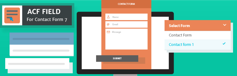 WordPress ACF Field For Contact Form 7 Plugin Banner Image