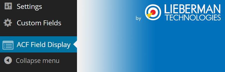 WordPress ACF Field Display Plugin Banner Image