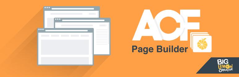 WordPress Advanced Custom Fields Page Builder Plugin Banner Image