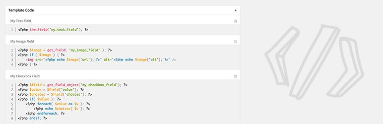 WordPress ACF Theme Code for Advanced Custom Fields Plugin Banner Image