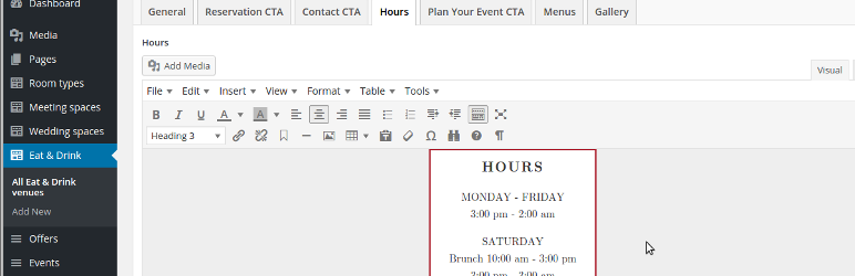 WordPress ACF WYSIWYG Styling Plugin Banner Image