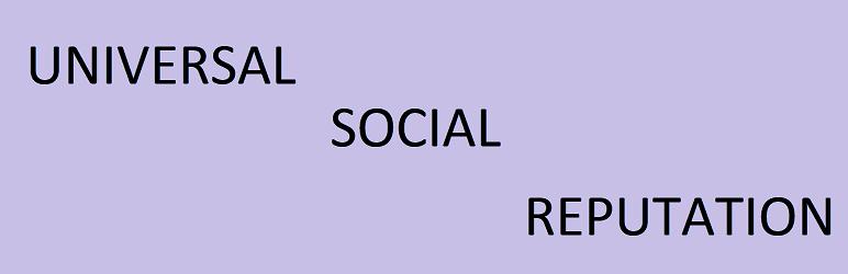 WordPress Universal Social Reputation Plugin Banner Image