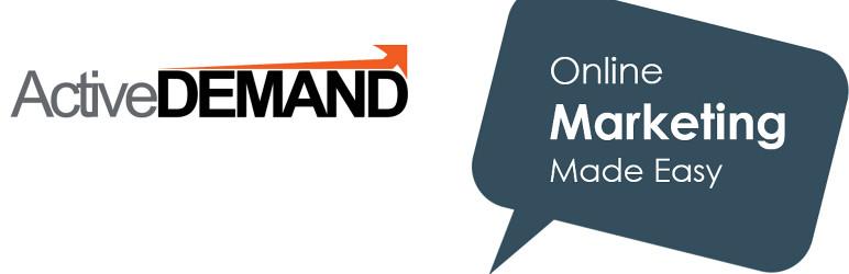 WordPress ActiveDEMAND Plugin Banner Image