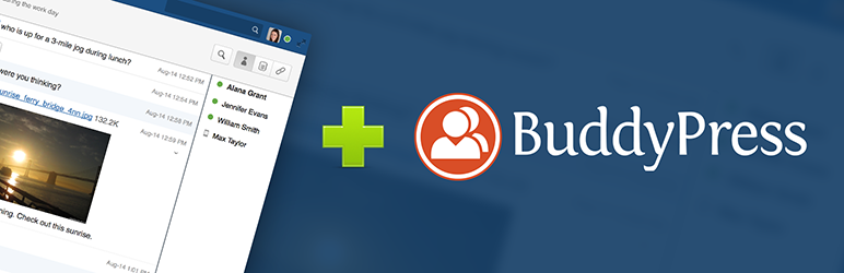 WordPress Activity Notifications for BuddyPress and HipChat Plugin Banner Image