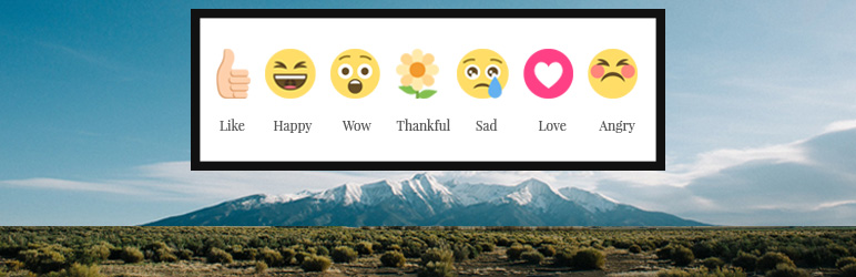 WordPress Activity Reactions For Buddypress Plugin Banner Image