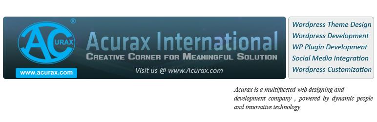 WordPress Acurax On Click Pop Under Plugin Banner Image