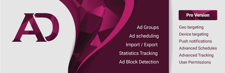 WordPress Ad Manager by 10Web  – Advanced Ad Manager plugin Plugin Banner Image