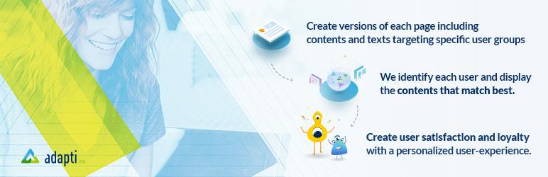 WordPress Personalize Content Plugin Banner Image