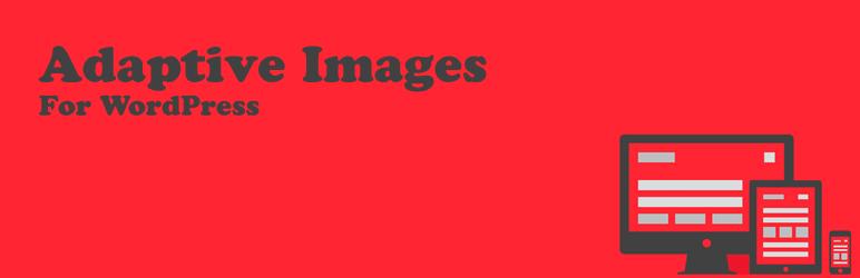WordPress Adaptive Images for WordPress Plugin Banner Image