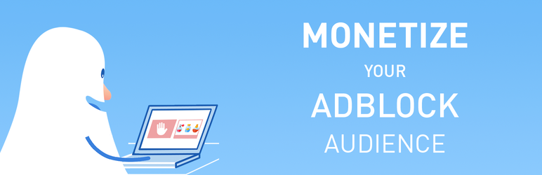 WordPress AdBack solution to adblock Plugin Banner Image