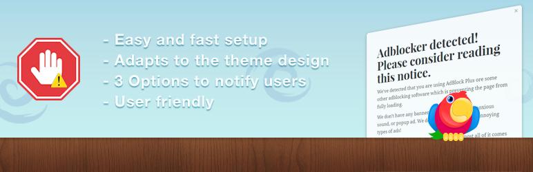 WordPress Ad Blocker Notify Lite Plugin Banner Image