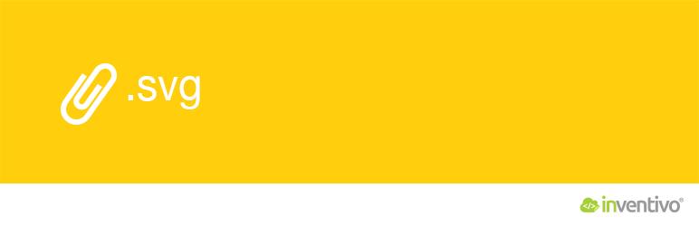 WordPress Add SVG Support for Media Uploader | inventivo Plugin Banner Image