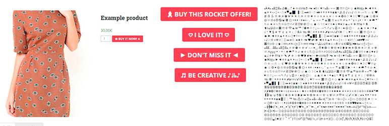 WordPress Add to Cart Button Custom Text Plugin Banner Image