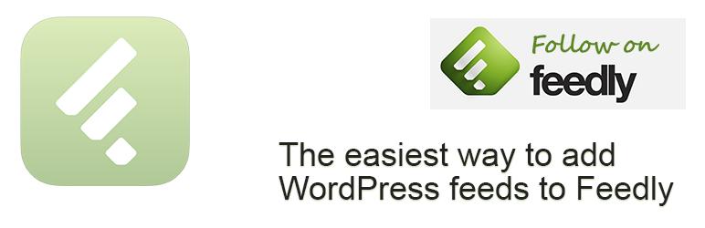 WordPress Add to Feedly Plugin Banner Image