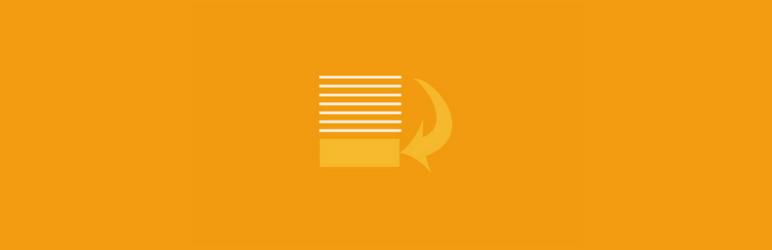 WordPress Add Widget After Content Plugin Banner Image