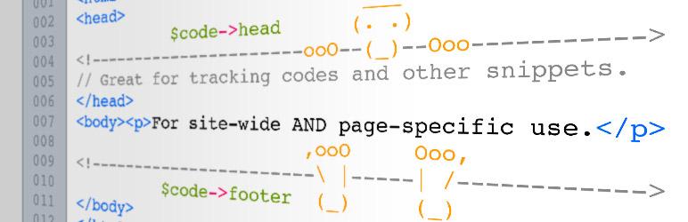 WordPress AddFunc Head & Footer Code Plugin Banner Image