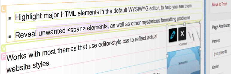 WordPress AddFunc WYSIWYG Helper Plugin Banner Image