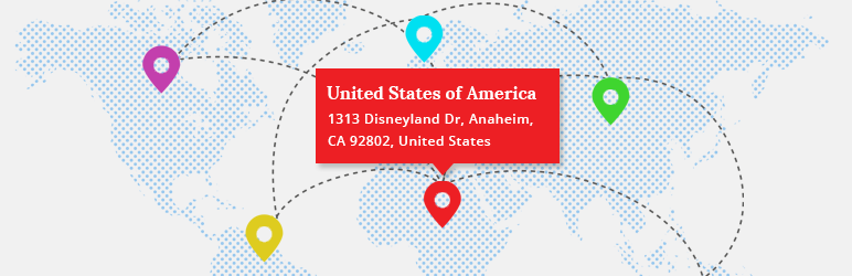 WordPress Address Locator on Image Map Plugin Banner Image