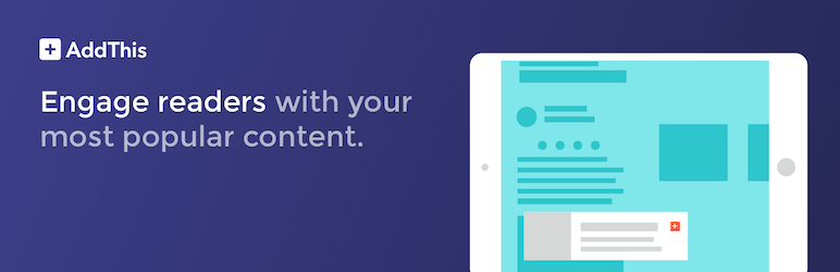 WordPress WordPress Related Posts Plugin – AddThis Plugin Banner Image
