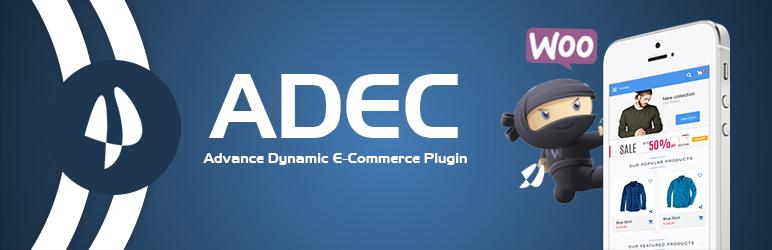 WordPress ADEC (Advance Dynamic E-Commerce) Plugin Banner Image