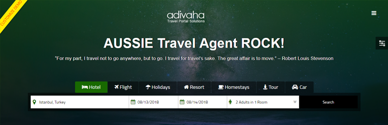 WordPress Adivaha Plugin Banner Image