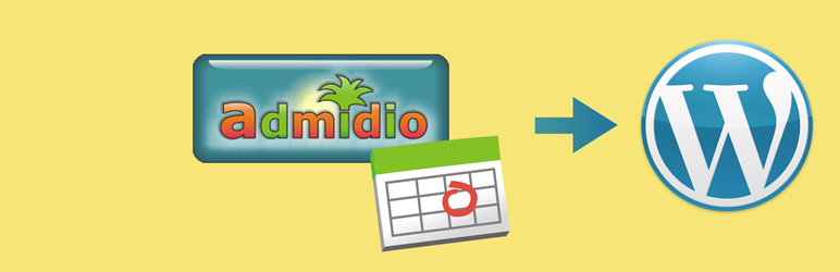 WordPress Admidio Events Plugin Banner Image
