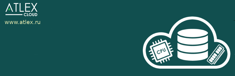 WordPress Admin ATLEX Cloud Plugin Banner Image