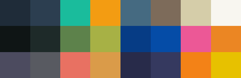 WordPress Admin Color Schemes Plugin Banner Image