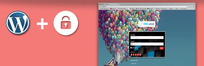 WordPress Admin Custom Login Plugin Banner Image